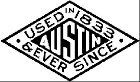 Austin - used in 1833 and ever since